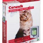 W-CDTW WOOD FITTING CAT DOOR TUNNEL WHITE BOX