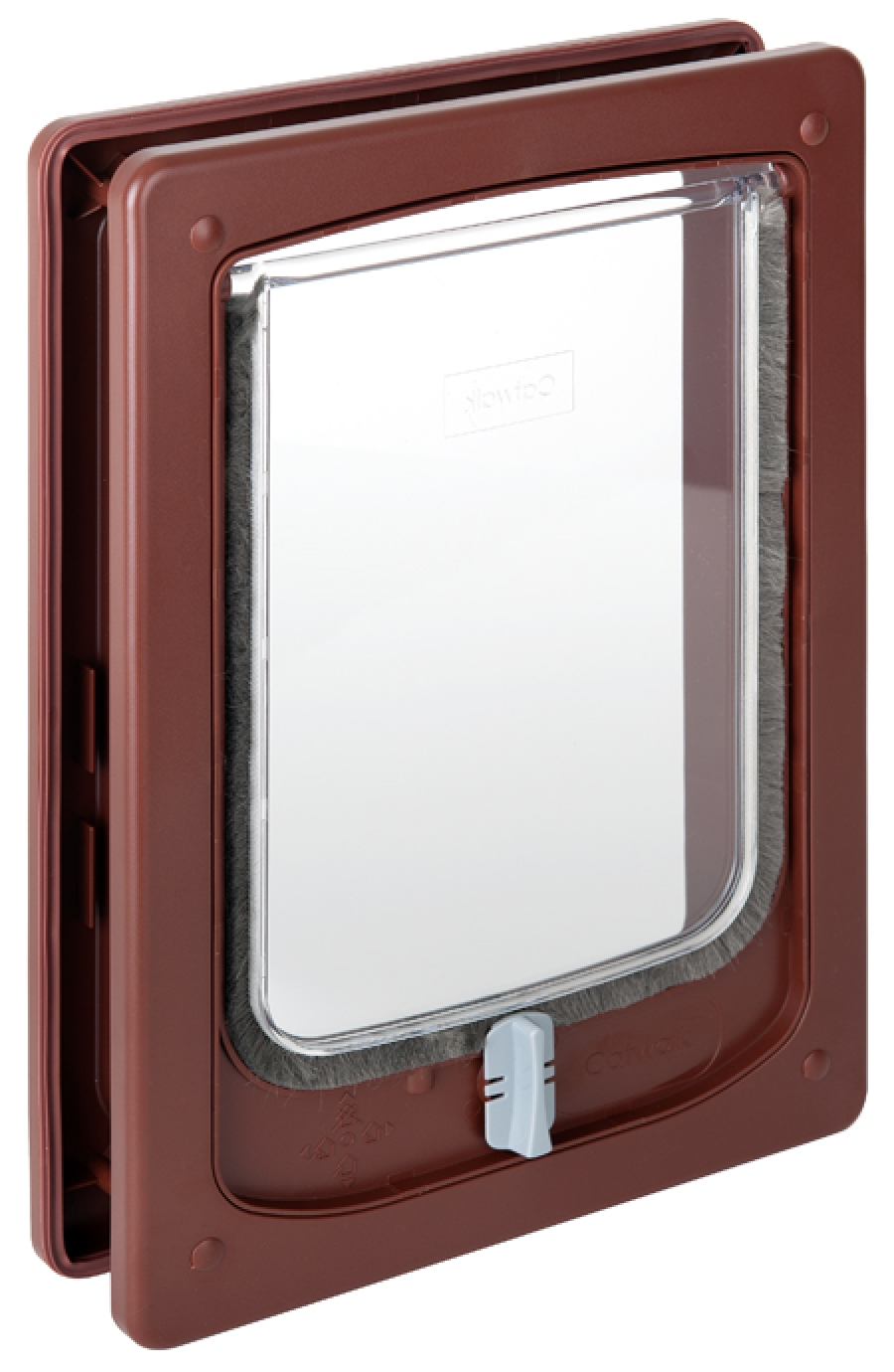 W-SDDTB Wood Fitting Small Dog Door Tunnel Brown.jpg