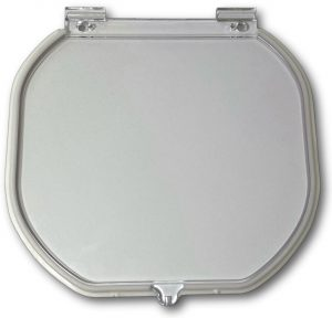 G-CDRF Glass fitting original cat door replacement Flap