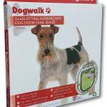 G-IDDC Glass Fitting Intermediate Dog Door Dual Glaze Clear Box